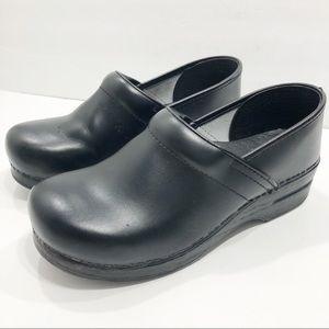 Dansko | Black Clog Slip On Shoes
